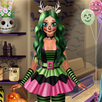 Free online flash games - Ice Princess Spooky Costumes DariaGames game - chicksgames