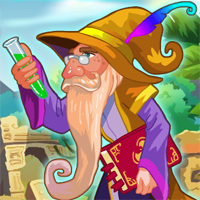Free online flash games - Wizard Jewels game - chicksgames