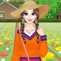 Free online flash games - Breezy April Dressup game - chicksgames