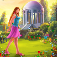 Free online flash games - Enchanted Garden game - chicksgames