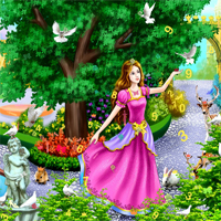 Free online flash games - Hidden Princess game - chicksgames
