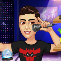 Free online flash games - Singer World Tour game - chicksgames