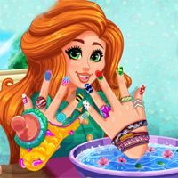 Free online flash games - Girlg Jessies DIY Nails Spa game - chicksgames