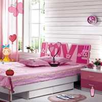 Free online flash games - Valentines Room-Hidden Objects game - chicksgames