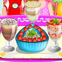 Free online flash games - Parfaits TopCookingGames game - chicksgames