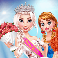 Free online flash games - Princesses Beauty Pageant game - chicksgames