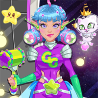 Free online flash games - Galaxy Girl Real Makeover Girlg game - chicksgames