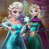 Free online flash games - Elsa Secret Transform game - chicksgames
