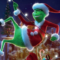 Free online flash games - The Grinch-Hidden Spots game - chicksgames