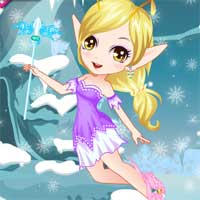 Free online flash games - Snow Fairy Dressup game - chicksgames