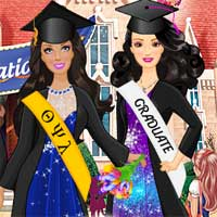 Free online flash games - Bonnie And Friends Graduation DressUpWho game - chicksgames