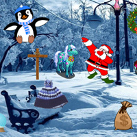 Free online flash games - Winter Time Hidden Objects game - chicksgames