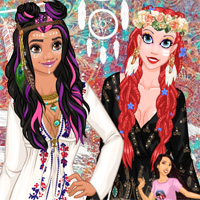 Free online flash games - Princess Style Guide 2017 Coachella MyCuteGames game - chicksgames