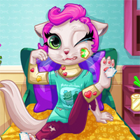 Free online flash games - Mias Hospital Recovery game - chicksgames