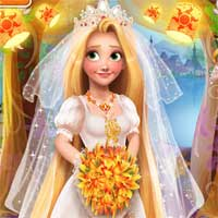 Free online flash games - Blonde Princess Wedding Fashion Girlg game - chicksgames