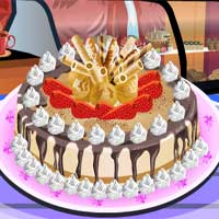 Free online flash games - Chocolate Cheesecake SmileyCooking game - chicksgames