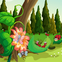 Free online flash games - Insects Mahjong game - chicksgames