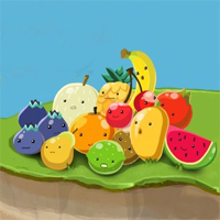 Free online flash games - Fruity Flavour game - chicksgames