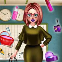 Free online flash games - Teacher Daily Prep game - chicksgames