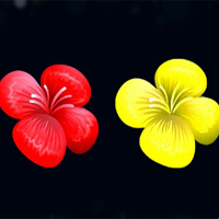 Free online flash games - Flowers Blocks Collapse game - chicksgames