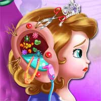 Free online flash games - Sofia Ear Emergency SiSiGames game - chicksgames