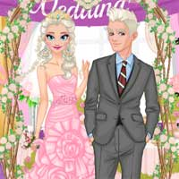Free online flash games - Ice Princess Wedding game - chicksgames