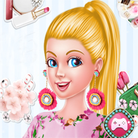 Free online flash games - Ellie New Earrings game - chicksgames