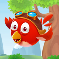 Free online flash games - Birdy Drop game - chicksgames