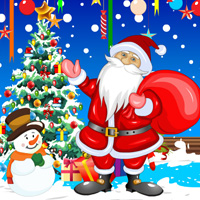 Free online flash games - Christmas Party Hidden Objects game - chicksgames