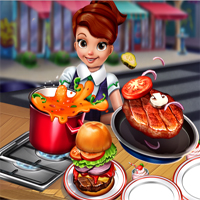 Free online flash games - Cooking Fast Hotdogs And Burgers game - chicksgames