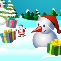 Free online flash games - Christmas Bubbles game - chicksgames