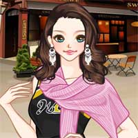 Free online flash games - Sweater Scarves Anime game - chicksgames