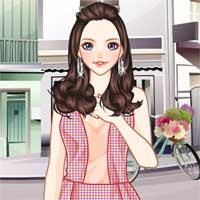 Free online flash games - Stylish Scarves Anime game - chicksgames