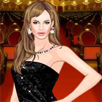 Free online flash games - Angelina Jolie game - chicksgames