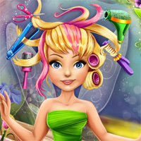 Free online flash games - Pixies Hollow Real Haircuts Girlsplay game - chicksgames