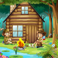 Free online flash games - Camp Hidden Objects game - chicksgames