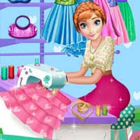 Free online flash games - Annie Tailor Shop Click4Games game - chicksgames