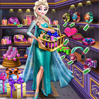 Free online flash games - Ice Queen Gift Shopping game - chicksgames