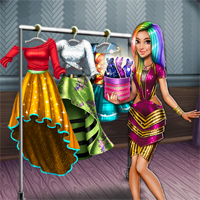 Free online flash games -  Tris Runway Dolly Dress Up game - chicksgames