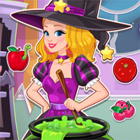 Free online flash games - Audreys Spell Factory Girlg game - chicksgames