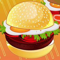 Free online flash games - Burger Now game - chicksgames