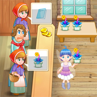 Free online flash games - Flower Shop game - chicksgames