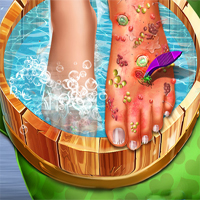 Free online flash games - Feet Skin Doctor game - chicksgames