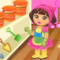 Free online flash games - Dora At The Farm DoraGames game - chicksgames