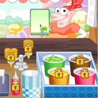 Free online flash games - Ice Cream Bar game - chicksgames