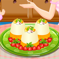 Free online flash games - Panna Cotta TopCookingGames game - chicksgames