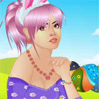 Free online flash games - Games2dress Easter Beauty Makeover game - chicksgames