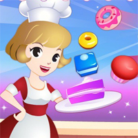 Free online flash games - Cake House game - chicksgames