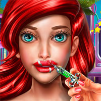Free online flash games - Mermaid Lips Injections game - chicksgames