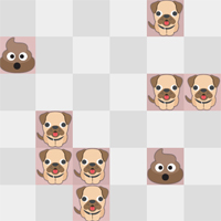 Free online flash games - Daily Dog Pooh game - chicksgames